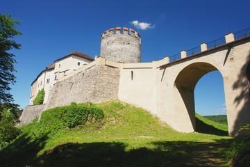View of the castle Cesky Sternberk , Czech Republic