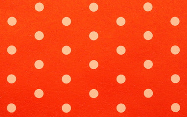 retro red polka dot pattern