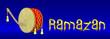 Ramazan Davulu Banner Dijital İllüstrasyonu