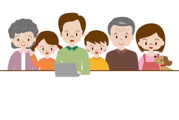 家族でインタネット