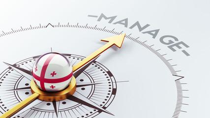 Georgia Manage Concept