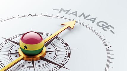 Ghana Manage Concept