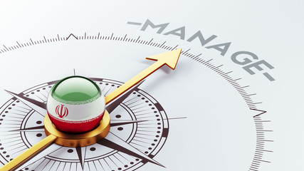Iran Manage Concept
