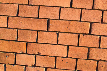 Red brickwall surface