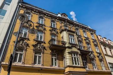 Neo-baroque tenement in Katowice