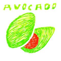 doodle avocado