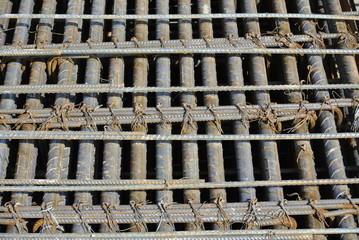 Reinforcement bar to be part of the building structures