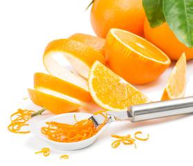 Zest of orange