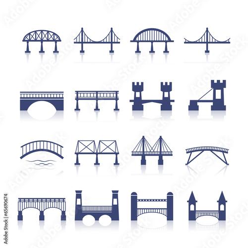 Bridge Icons Set - 65690674