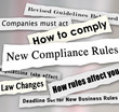 Compliance Headlines Newspaper Torn New Business Regulations Com