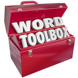 Fototapety Word Toolbox Teaching Tools Resources Spelling Reading Lesson Ai