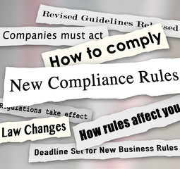 Compliance Headlines Newspaper Torn New Business Regulations Com