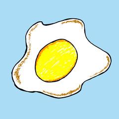 Doodle Fried Egg