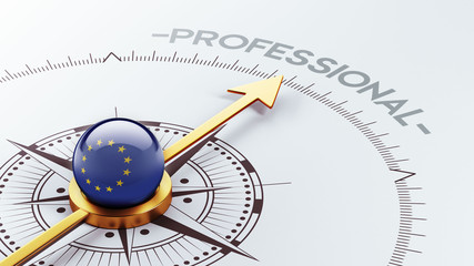 European Union Professional Concept