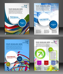 Business Flyer Magazine Cover & Poster Template.