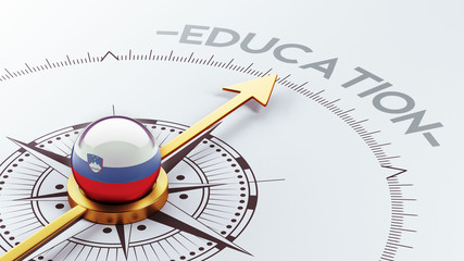 Slovenia Education Concept