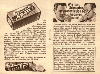 Vintage medical advertisement