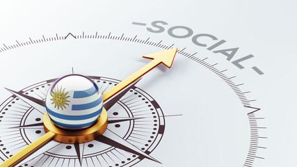 Uruguay Social Concept