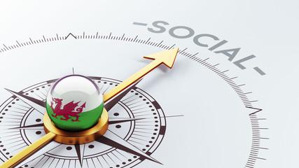 Wales Social Concept