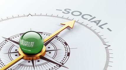 Saudi Arabia Social Concept