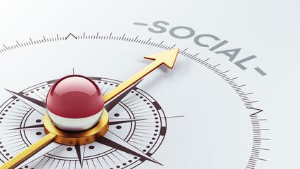 Indonesia Social Concept