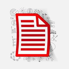 Drawing business formulas: paper