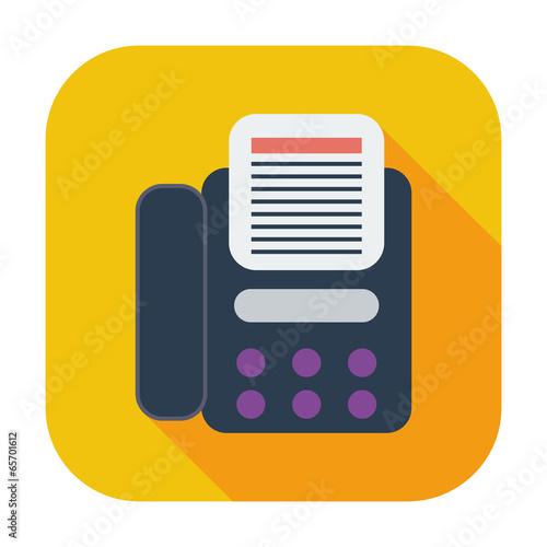 Fax icon.