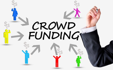 Crowd funding platform concept