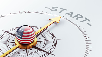 United States Start Concept