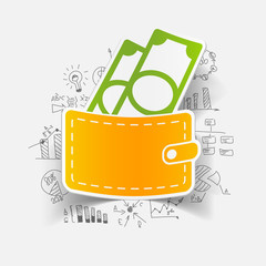 Drawing business formulas: purse