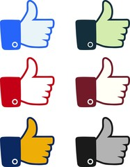 Thumbs Up Icon - Illustration