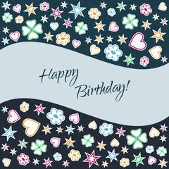 Geburtstag - Hintergrund