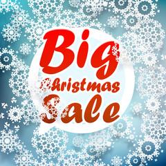 Christmas sale design template. + EPS10