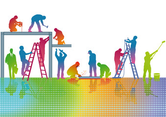 Handwerks Farben