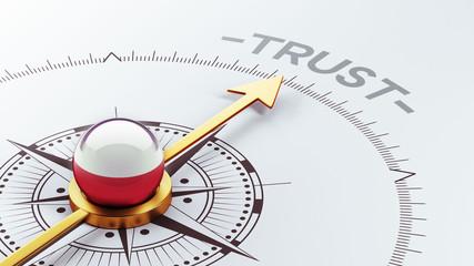 Poland Trust Concept