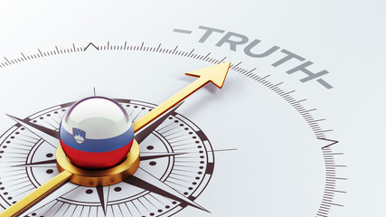 Slovenia Truth Concept