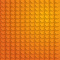 Abstract orange circle background - vector illustration