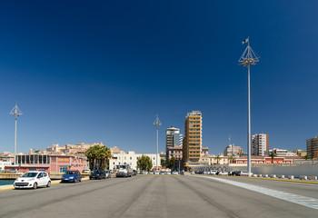 Cagliari, Molo Ichnusa e capitaneria di porto