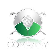логотип гольф