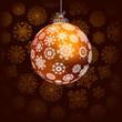 Elegant christmas background.  + EPS8