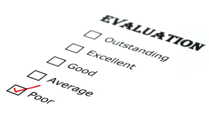 Evaluation check box