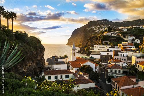 Foto op Canvas Mediterraans Europa Câmara de Lobos, Madeira Island