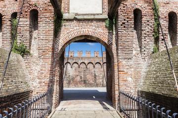 Entrance of a castle