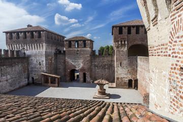 Interior of a castle