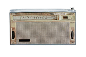 Old radio isolate