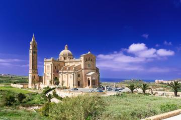 Shrine of the Blessed Virgin of Ta Pinu Gozo Malta horizontal