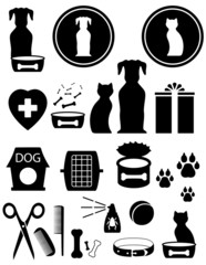 set goods for pet