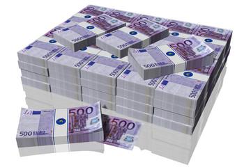 € 500 mazzette