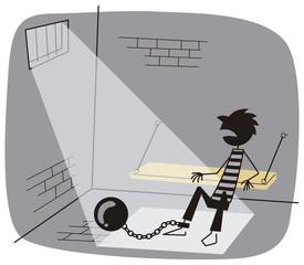 牢獄の中の囚人