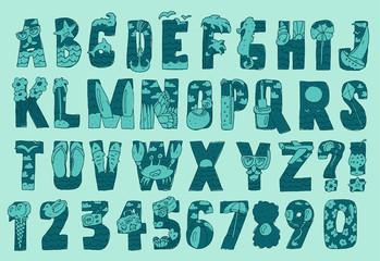original summer font (type)
